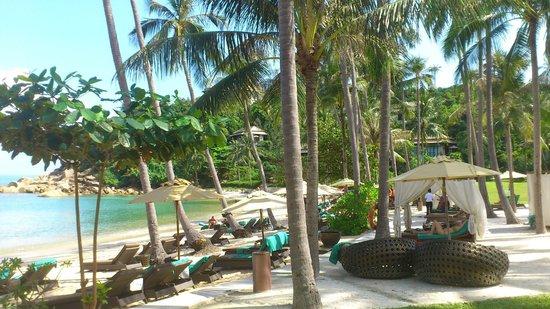 Banyan Tree Samui:                   Strand