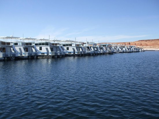 Antelope Point Marina Village: Boats in the Marina
