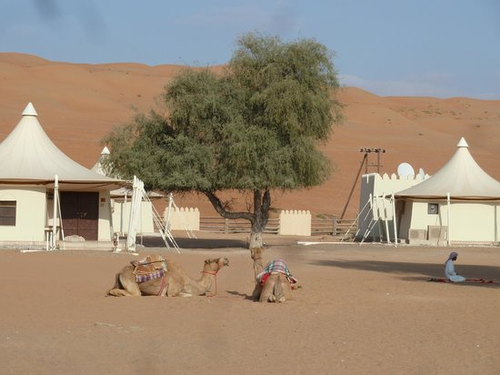 Desert Nights Camp: Zelthäuser