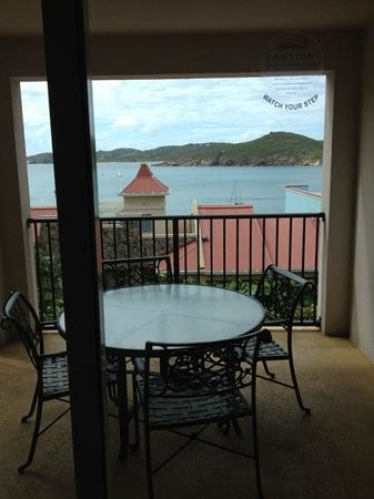 Marriott's Frenchman's Cove:                   view from the master bedroom