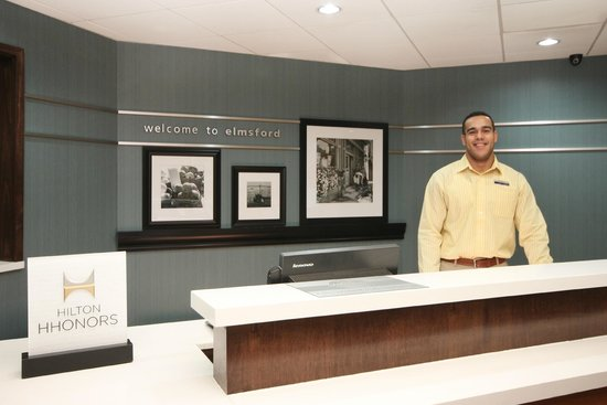 Hampton Inn White Plains / Tarrytown: Smile you're here!
