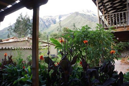 El Albergue Ollantaytambo:                   The room with a view at El Albergue