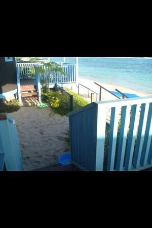 Litia Sini Beach Resort: View from bedroom