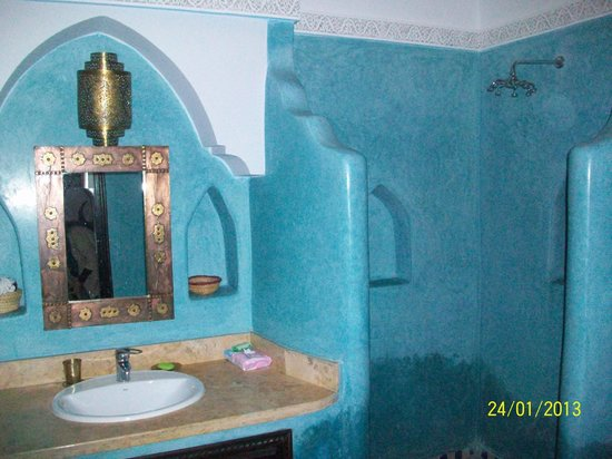 Riad Tamarrakecht:                   bathroom