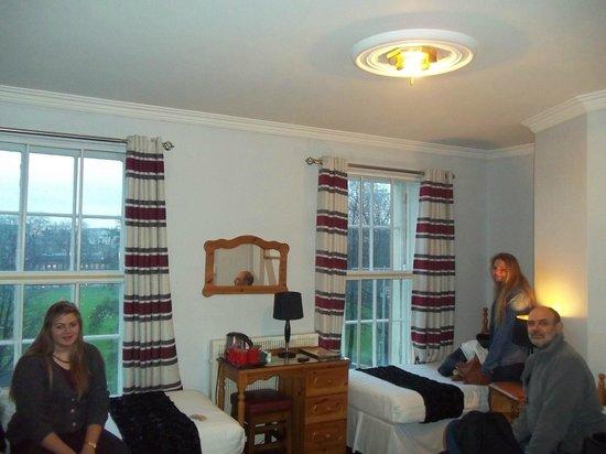 Kildare Street Hotel:                   Habitación                 