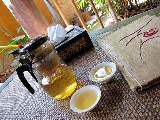 Tianzi Tea House and Garden:                   Orchid Tea