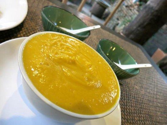 Tianzi Tea House and Garden:                   Pumpkin cream soup