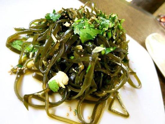 Tianzi Tea House and Garden:                   Seaweed Salad