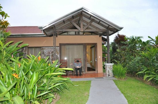 Arenal Springs Resort and Spa:                   enterance and balcony of room