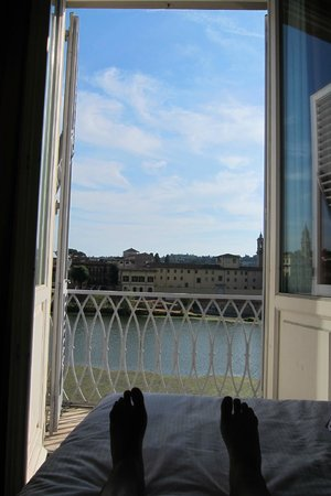 The Westin Excelsior Florence: Excellent view from the room