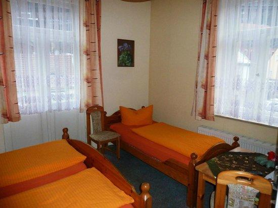 Gästehaus Loschwitz: Das Bett  :-)