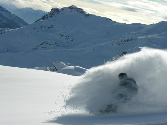 Whistler, Kanada:                   So much powder!