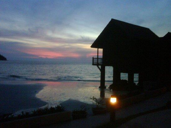 Pangkor Island Beach Resort:                   uno posto ideale per vedere i tramonti