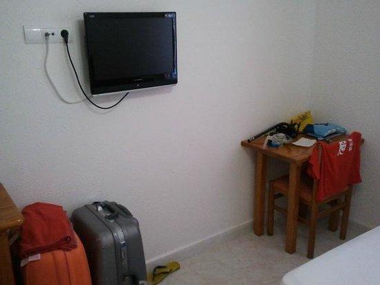 Hotel Lago Playa II:                   Fronte letto