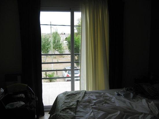 Hotel Calafquen:                   Balcon de la habitacion
