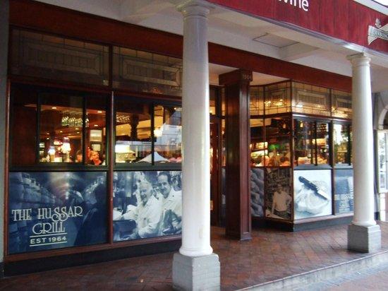The Hussar Grill Stellenbosch :                   Hussar Grill