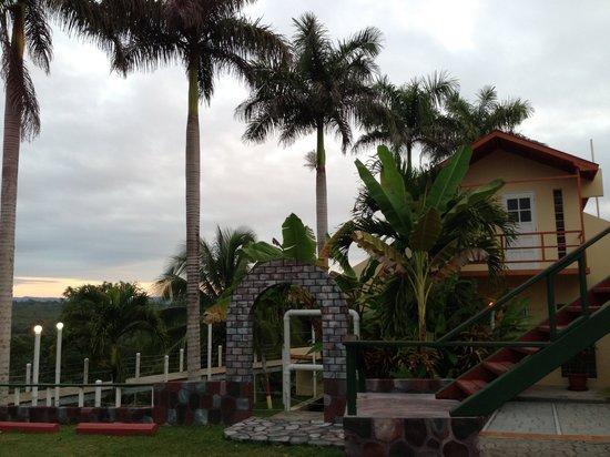 Rumors Resort:                                     Hotel Entrance