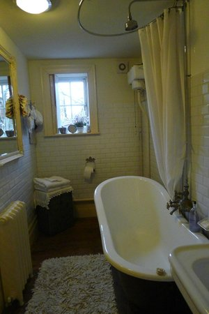 The Linen Shed:                   Downstairs Bath