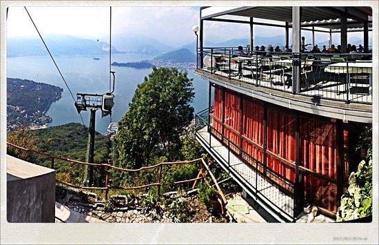 Terrazza panoramica Ristorante - Foto di Funivie del Lago Maggiore ...