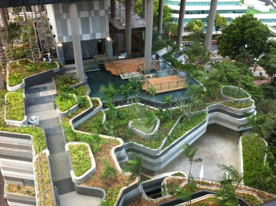 PARKROYAL on Pickering: Garden in the works