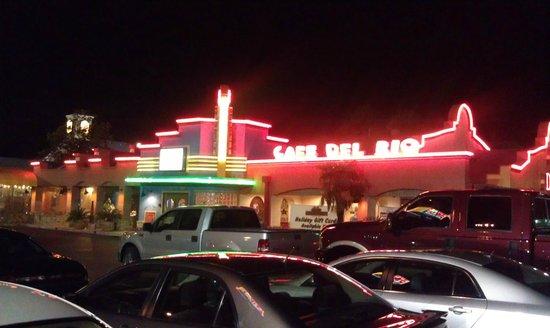 Location Of Cafe Del Rio In Texas