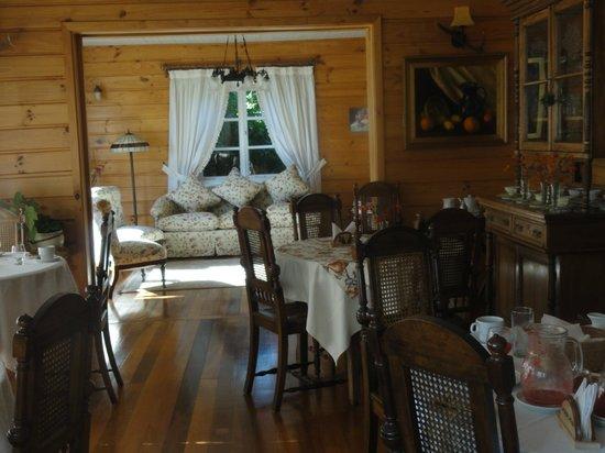 Hotel Frau Holle:                   Salón para desayunar