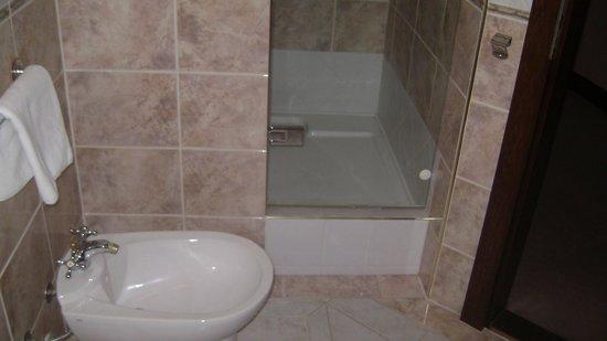 Hotel Zamek Stirin: Bathroom