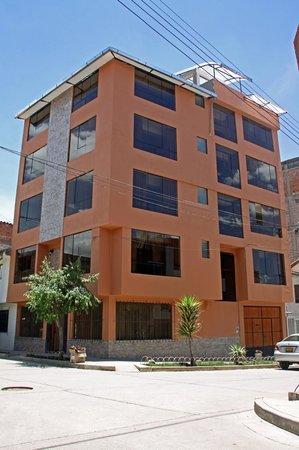 Hospedaje Santa Beatriz: Fachada del Hotel
