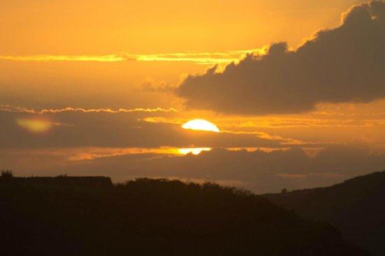 Sapphire Beach:                   sunset