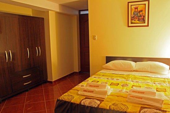 Hospedaje Santa Beatriz: Las habitaciones cuentan con closet grandes