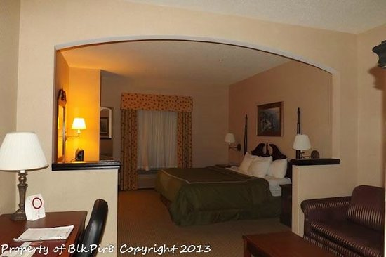Comfort Suites:                   Loved the Arch