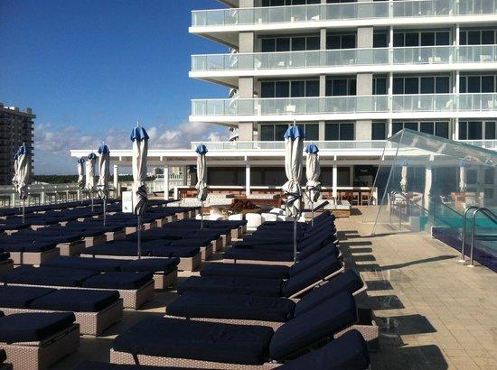 W Fort Lauderdale:                                     pool deck -- good ocean views