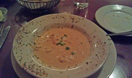 Star Steak & Lobster House: Lobster Bisque