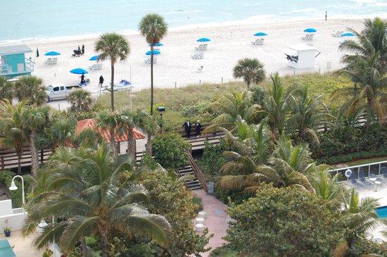 BEST WESTERN Atlantic Beach Resort:                   playa frente al hotel
