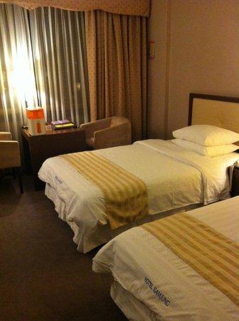 Hotel Samjung:                   ベット