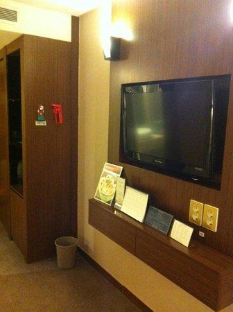 Hotel Samjung:                   窓側