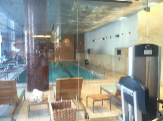 InterContinental Boston:                                     pool