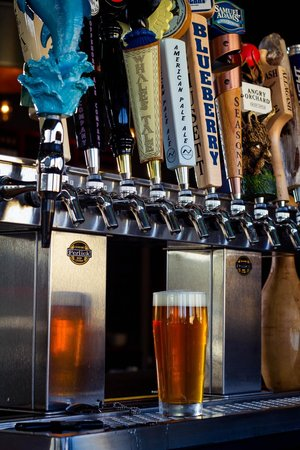 The Lanes Bowl and Bistro: 12 Micro Brews