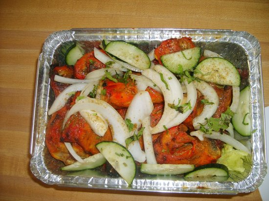 Bombay cafe:                   tandoor chicken