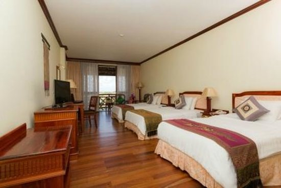 Angkor Paradise Hotel: Deluxe Triple Room