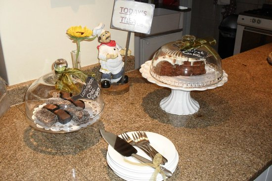 Bryan Manor Guest House :                                     Daily free cake treats. Delicious!