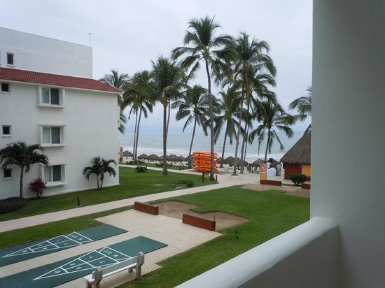 Marival Resort & Suites:                   our view from our room
