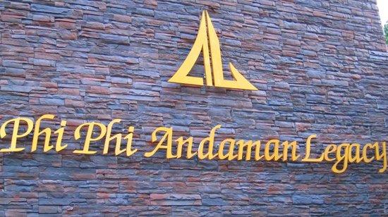 Phi Phi Andaman Legacy:                   Logo de l'hôtel