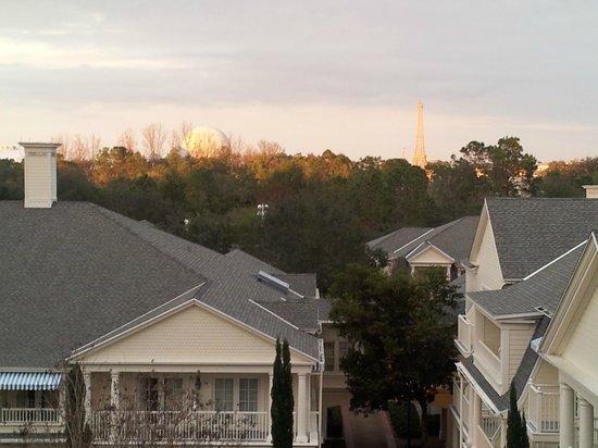 Disney's BoardWalk Inn:                   View from room 5306