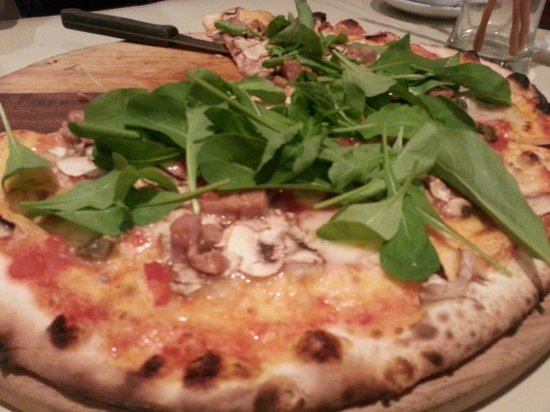 Bacco - Osteria da Sergio :                   Pizza