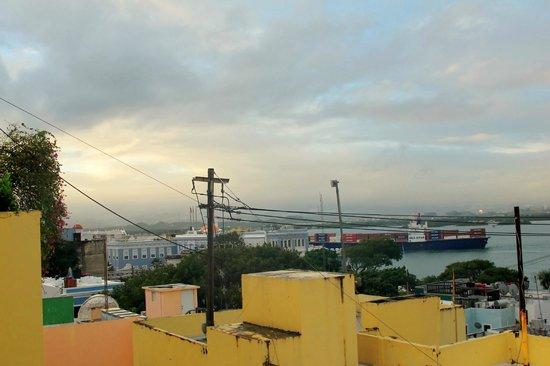 Hotel El Convento: view from 4th floor room
