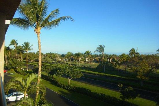 The Bay Club at Waikoloa Beach Resort:                   Northwest view from Lanai