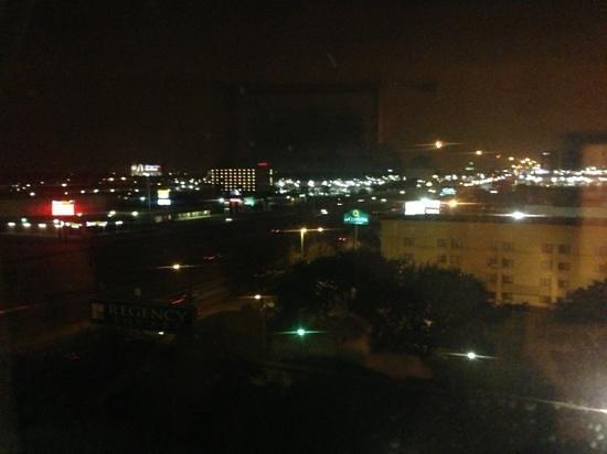 Hilton Houston Galleria Area: The Highway At Night
