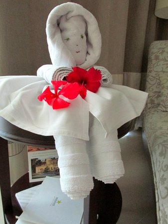 Iberostar Grand Hotel Bavaro :                   We had a new towel creation each night, created by the maids.