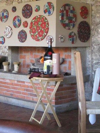 Hotel Parador Vernal:                   La fogata del restaurant